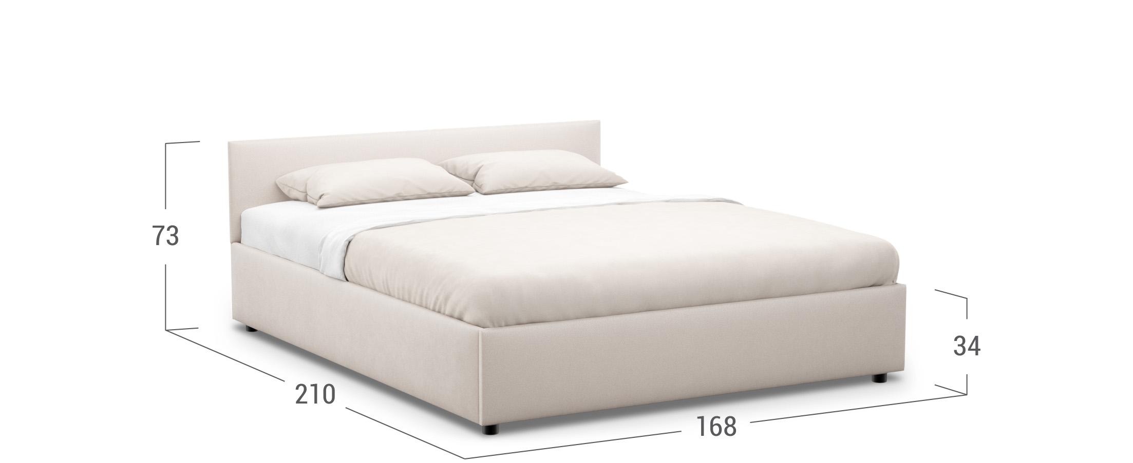Кровать двуспальная Prima Classic New 160х200 Модель 1220
